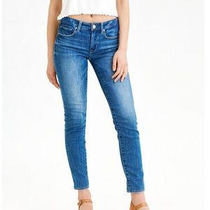 🔥Sz 6 Long-American Eagle Ladies Skinny Jeans